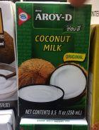 Кокосовое молоко Aroy-D 250 мл.