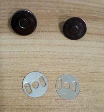 МАГНИТНАЯ КНОПКА  диаметр 18 мм цвет ТЕМНОЕ СЕРЕБРО  материал металл цена за комплект ( кнопка 2 части.) УЦЕНКА: ОТСУТСТВУЮТ ДВА УПЛОТНИТЕЛЯ В КОМПЛЕКТЕ