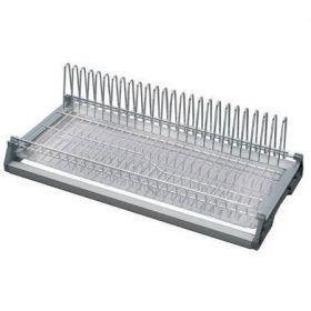 Одноуровневая сушка для посуды в полку 90см