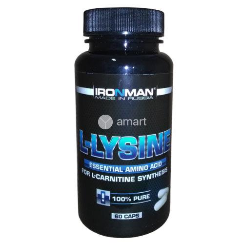 L-lysine 60 caps (IronMan)