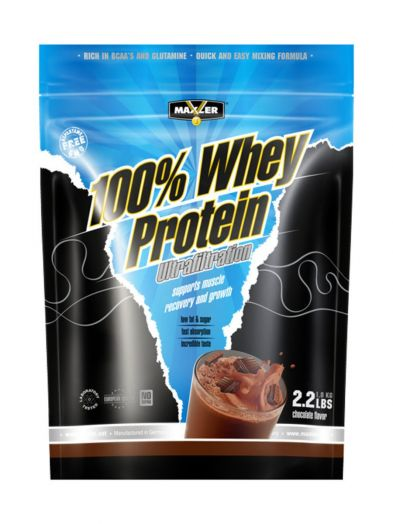 100% Whey Protein Ultrafiltration, 1 кг (Maxler)