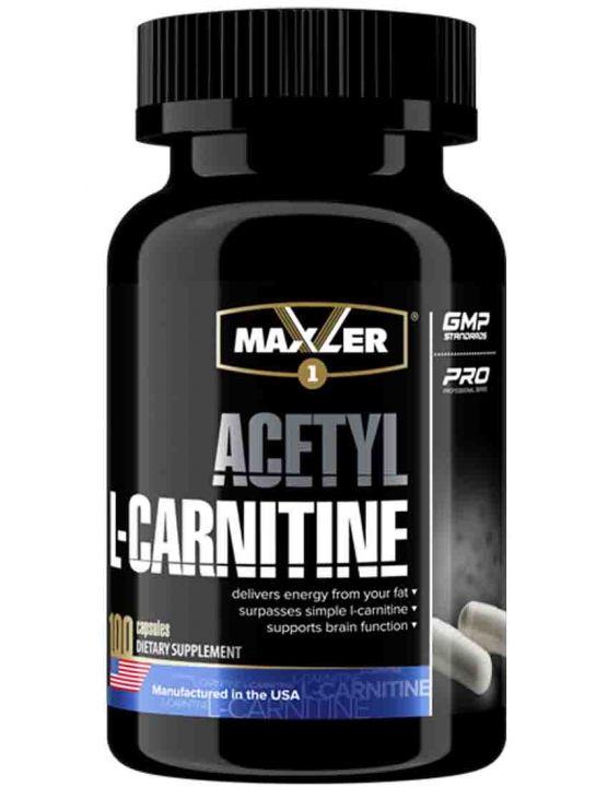 Acetyl l-carnitine 100 caps (Maxler)