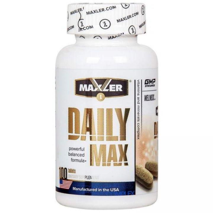 Daily Max, 100 таб(Maxler)