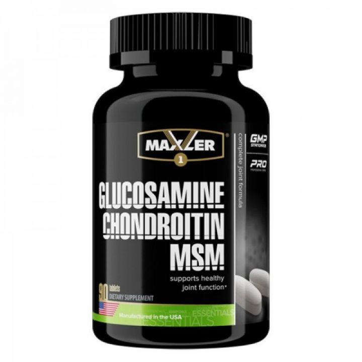 Glucosamine Chondroitin MSM 90 таб  (Maxler)