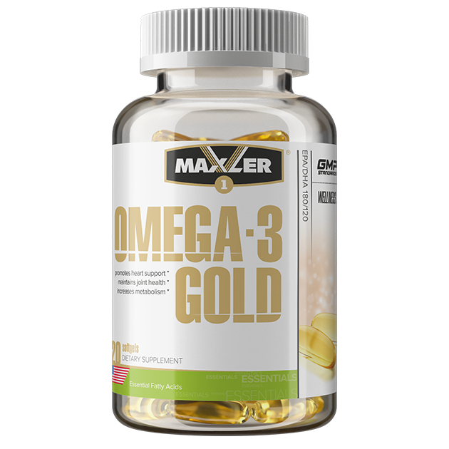Maxler Omega-3 Gold 120 softgels