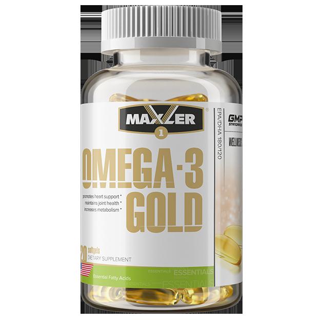 Maxler Omega-3 Gold 120 softgels