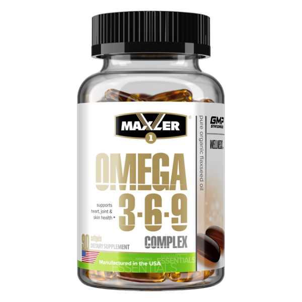 Omega-3-6-9 90 softgels (Maxler)