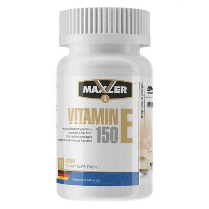 Vitamin-E 60 tabl (Maxler)