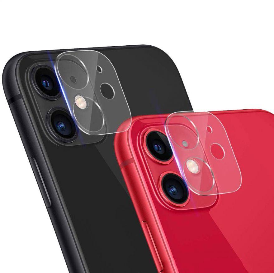 Защитное стекло на камеру iPhone 11