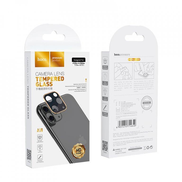 Защитное стекло для камеры iPhone 11 Pro/11pro max Hoco 3D