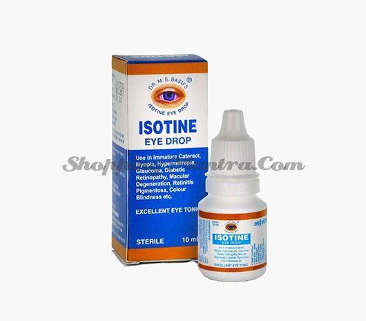 Глазные капли Айсотин Др. Басу | Dr. Basu Isotine Eye Drop