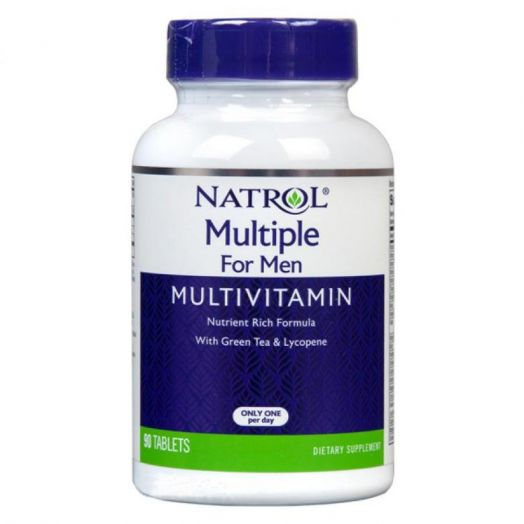 Multiple Vitamins for Men 90 tab. (Natrol)