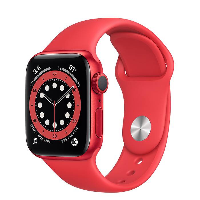 Умные часы Apple Watch Series 6 GPS 40mm Aluminum Case with Sport Band