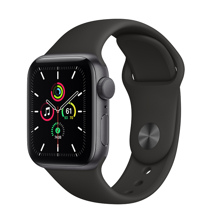 Умные часы Apple Watch SE GPS 44mm Aluminum Case with Sport Band