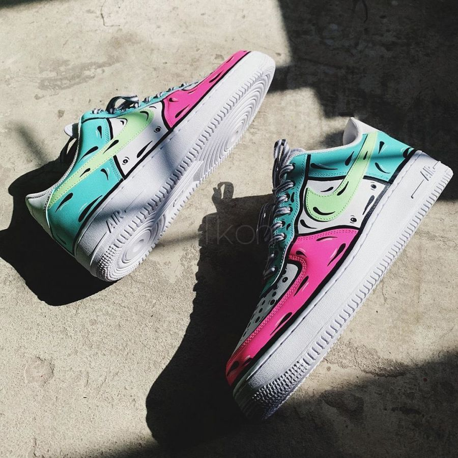 Nike Air Force 1 low Custom swety