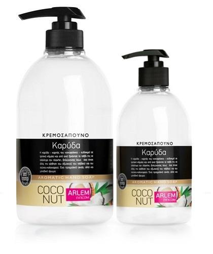 Жидкое мыло для рук с ароматом Кокоса (флакон с дозатором), 1000 мл