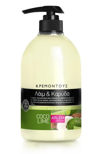Кремовый гель для душа с ароматом Лимона и кокоса, 1000 мл