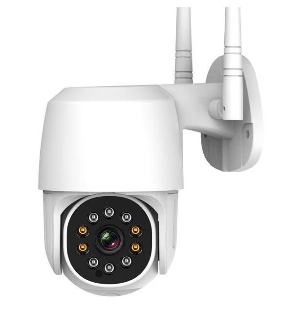 WIFI 2 MP IP наружная камера с функцией поворота (PTZ) и двухсторонней аудио связь2