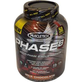 Muscletech Phase 8 2.1кг Комплексный протеин