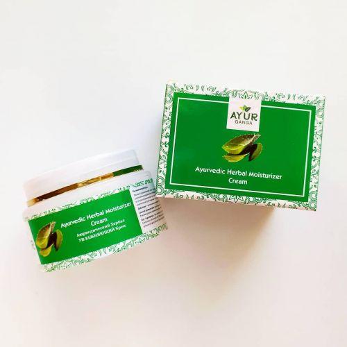 Аюрведический травяной крем Увлажняющий | Ayurvedic Herbal Moisturizer Cream | 30 г | AyurGanga