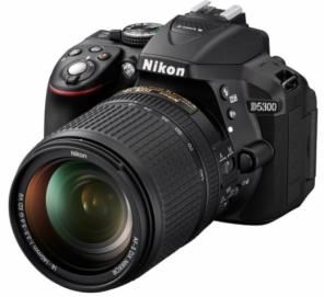 Nikon D5300 Kit 18-105mm f/3.5-5.6g ED VR DX AF-S