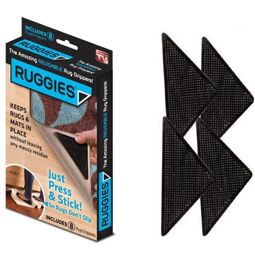 Фиксаторы для ковров Ruggies, 8 шт.