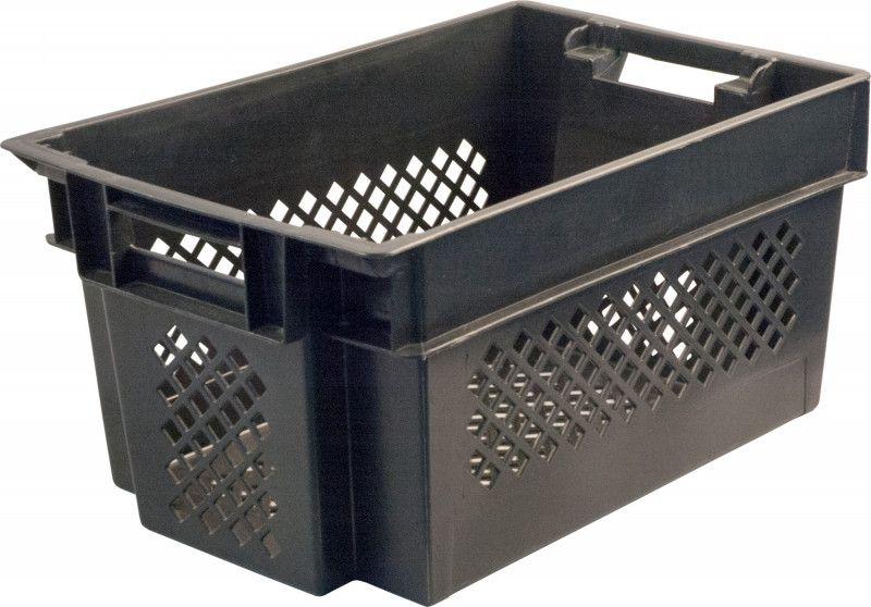 Ящик пластиковый 600х400х300 перфорированный