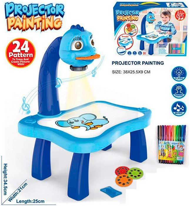 Детский проектор для копирования со столиком PROJECTOR PAINTING