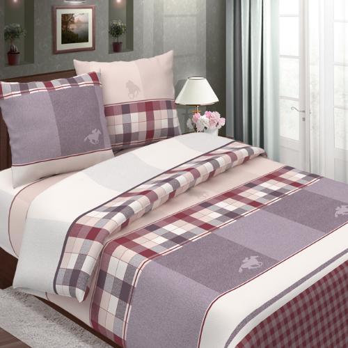 Поло (бордо) постельное белье бязь