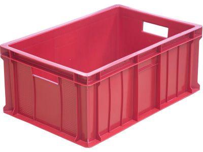 Ящик пластиковый 600x400x250 сплошной