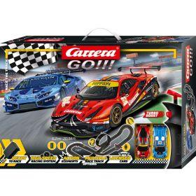 Автотрек Carrera GO!!! - Race the Track 62526