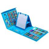 Набор для детского творчества со складным мольбертом в чемоданчикеt, голубой