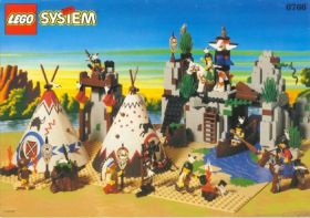 6766 Лего Индейское поселение
