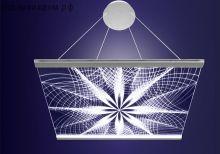 Люстра подвесная «Геометрия»