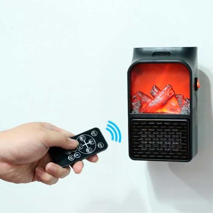 Портативный обогреватель-камин с таймером Flame Heater