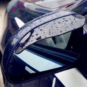 iizw Дефлекторы на боковые зеркала заднего вида, для автомобиля (2 штуки, черные) Новые, Гарантия, Доставка