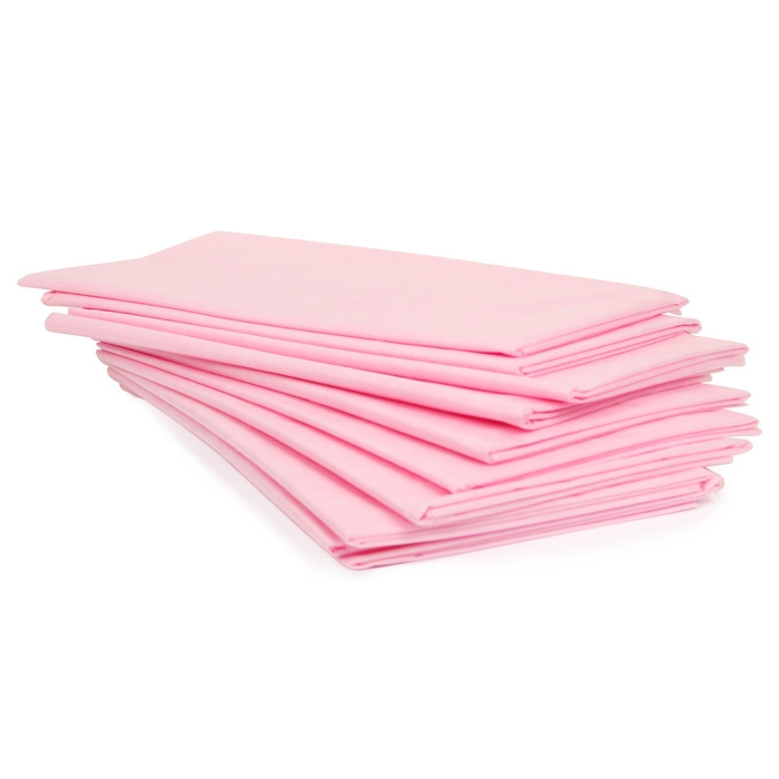 Простыня одноразовая 200*70, (СМС 20), розовая, №10