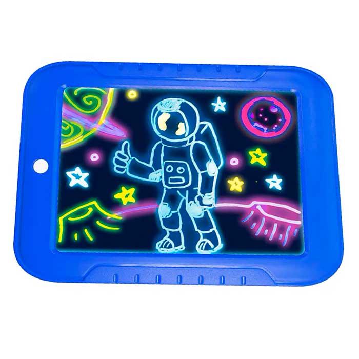 Магический планшет для рисования с подсветкой Magic Sketchpad