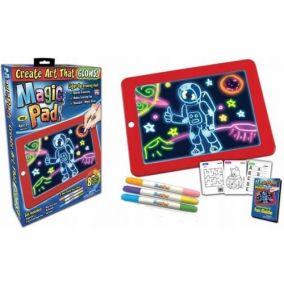 Планшет для рисования с подсветкой Magic Sketchpad (Рисуем в темноте)