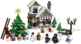 10199 Лего Зимний магазин игрушек