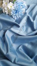 Сатин люкс светло-синий
