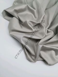 Сатин люкс теплый серый