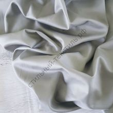Сатин люкс серый