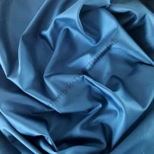 Сатин люкс синий звездный
