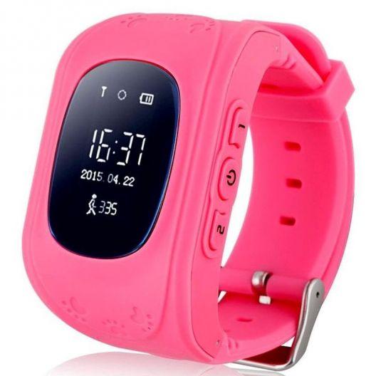 iizw Детские умные часы-телефон с GPS тpeкepoм Smart Baby Watch Q50 (СМАРТ БЕЙБИ ВОТЧ) (розовые) Новые, Гарантия, Доставка