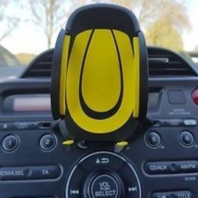 iizw Автоаксессуар-держатель для смартфона и мобильного телефона (желтый) Новый, Гарантия, Доставка