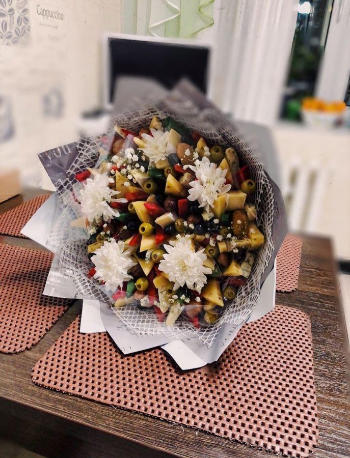 Сырный букет Хризантема