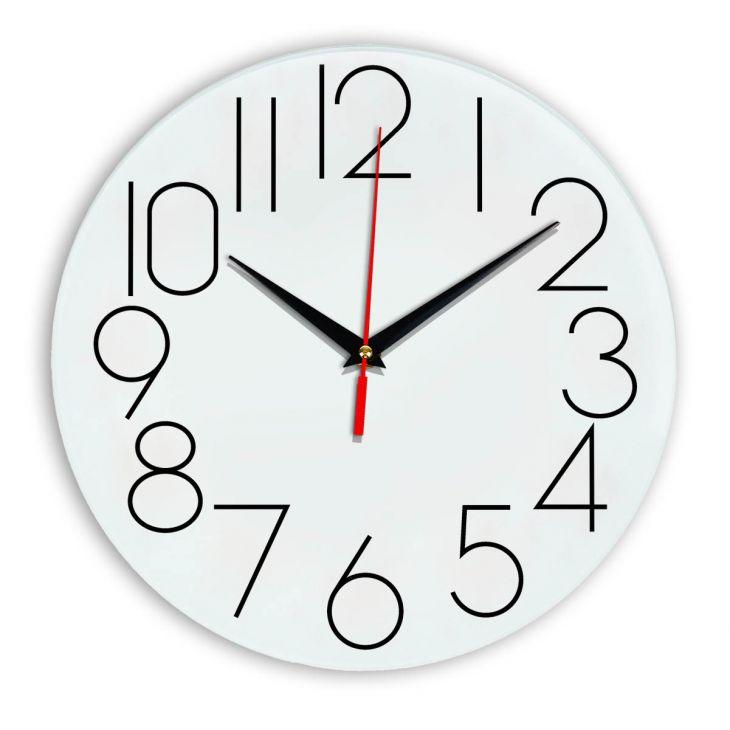 Настенные часы Ideal 923 белые
