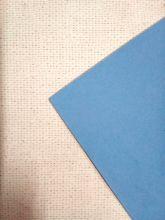 фоамиран (EVA, вспененная резина) листовой ГОЛУБОЙ ПАСТЕЛЬНЫЙ  21,2*29,8 см толщина 2 мм