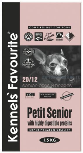 Kennels` Favourite Petit Senior 1,5 кг.